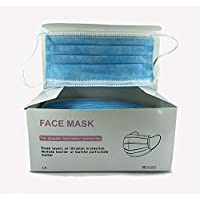 20/50/100pcs Disposable three Layer Face Protection Surgical Hygiene Dental Dust Smog Cleaning (Color : M50pcs)