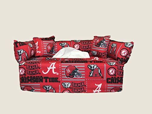 State Tissue Box Cover - University of Alabama Tissue Box cover. Includes Tissue