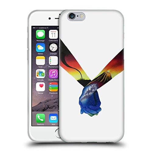 Officiel Graham Bradshaw Mains Illustrations Étui Coque en Gel molle pour Apple iPhone 6 / 6s