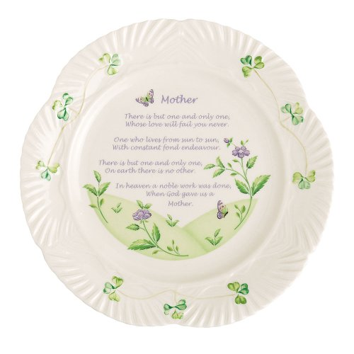 Belleek Mothers Blessing Plate 9