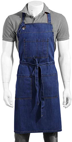100 cotton butcher aprons - 5