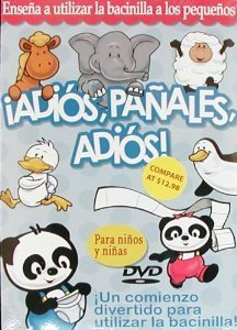 iAdios Panales Adios - Potty Training DVD in Spanish