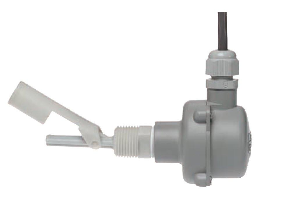 Gems Sensors 181291 316 Stainless Steel Float Small Size Single Point Level Switch, 5/8'' Diameter, 1/2'' NPT Male