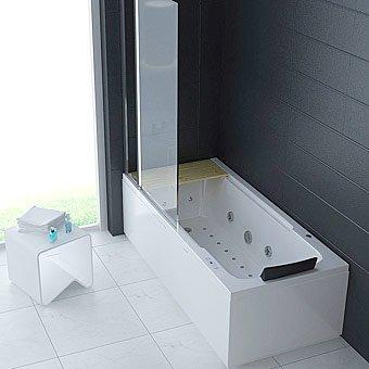 Dusche mit whirlpool