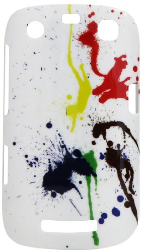 Exian Blackberry Curve 9350 / 9360 / 9370 Case Ink Splatter (Blackberry Curve 9360 Accessories)
