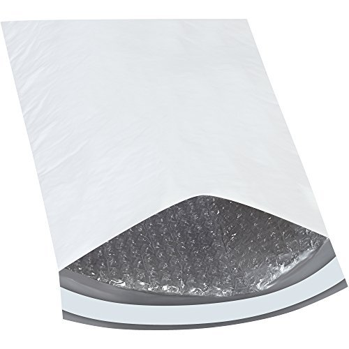 Top Pack Supply Bubble Lined Poly Mailers 8 1/2 x 12 White (Pack of 25) [並行輸入品] B07K9PT4CD