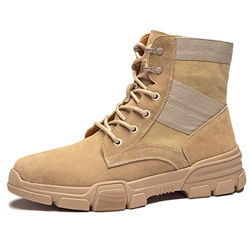 - GanQuan2018 Men's Martin Boot Middle-top Casual Autumn Outdoor Combat Boots