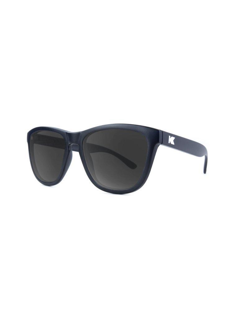 Knockaround Premiums Polarized Sunglasses, Matte Black/Smoke