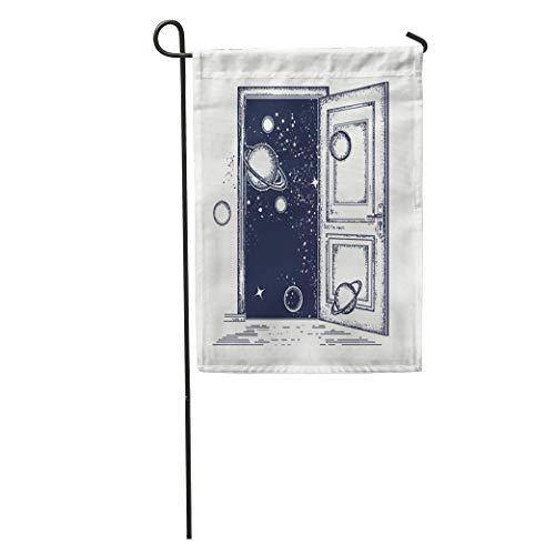 NgkagluxCap Garden Flag Open Door in Universe Tattoo