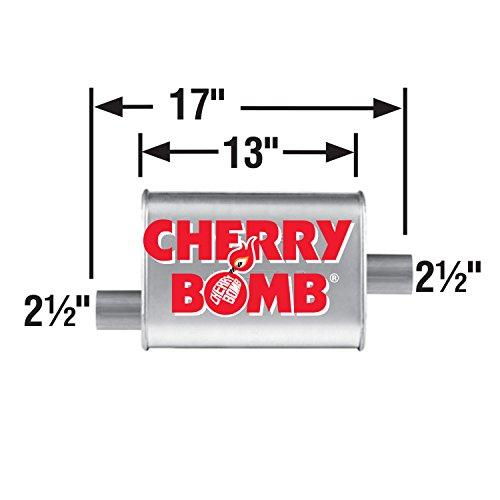 AP Exhaust AP16809CB Cherry Bomb Turbo Muffler