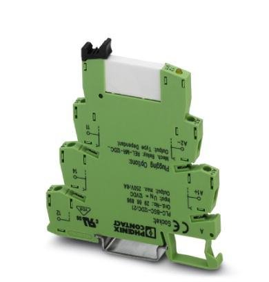 PHOENIX CONTACT 2966171 RELAY, PLC, SPDT, 24VADC, 6A, DIN - Rail Din Contact Phoenix