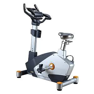 DKN EB-2100i - Bicicletas estáticas y de spinning para fitness, color gris