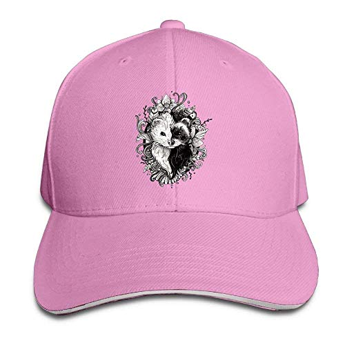 Cowgirl Skull Yin Hats Yang Hat Denim Ferret Sport Men Cowboy Cap Women nSxCd0d