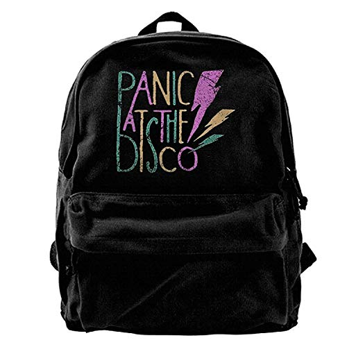 Unisex Panic At The Disco Canvas Backpack B1 for sale  Delivered anywhere in USA