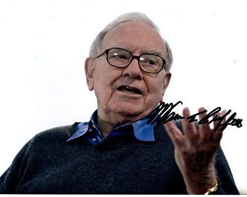 WARREN BUFFETT signed autographed photo