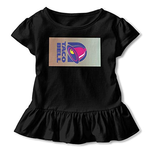 Used, LINGDANMIAO Kid T Shirt Taco Bell Logo 3D Tee Baseball for sale  Delivered anywhere in Canada