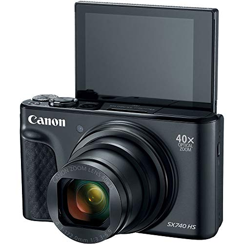 Canon PowerShot SX740 Point and Shoot Camera Bundle