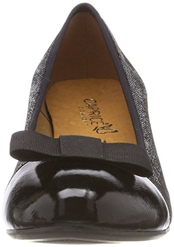 Caprice Women's 22303 Closed-Toe Pumps Grey (Gunmetal Multi 933) 0qRaS
