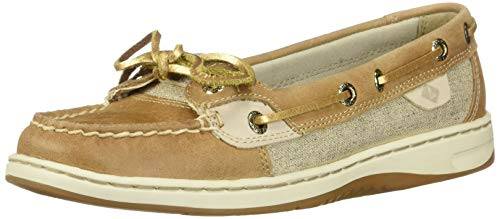 (SPERRY Women's Angelfish Metallic Linen 8.5 M US )