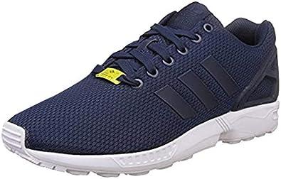 Amazon.com | adidas Mens Zx Flux Pk Sneakers Shoes - Grey - Size ...