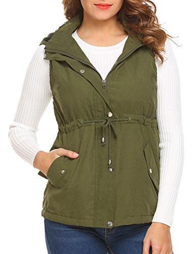 winter outerwear vests hood waistcoat