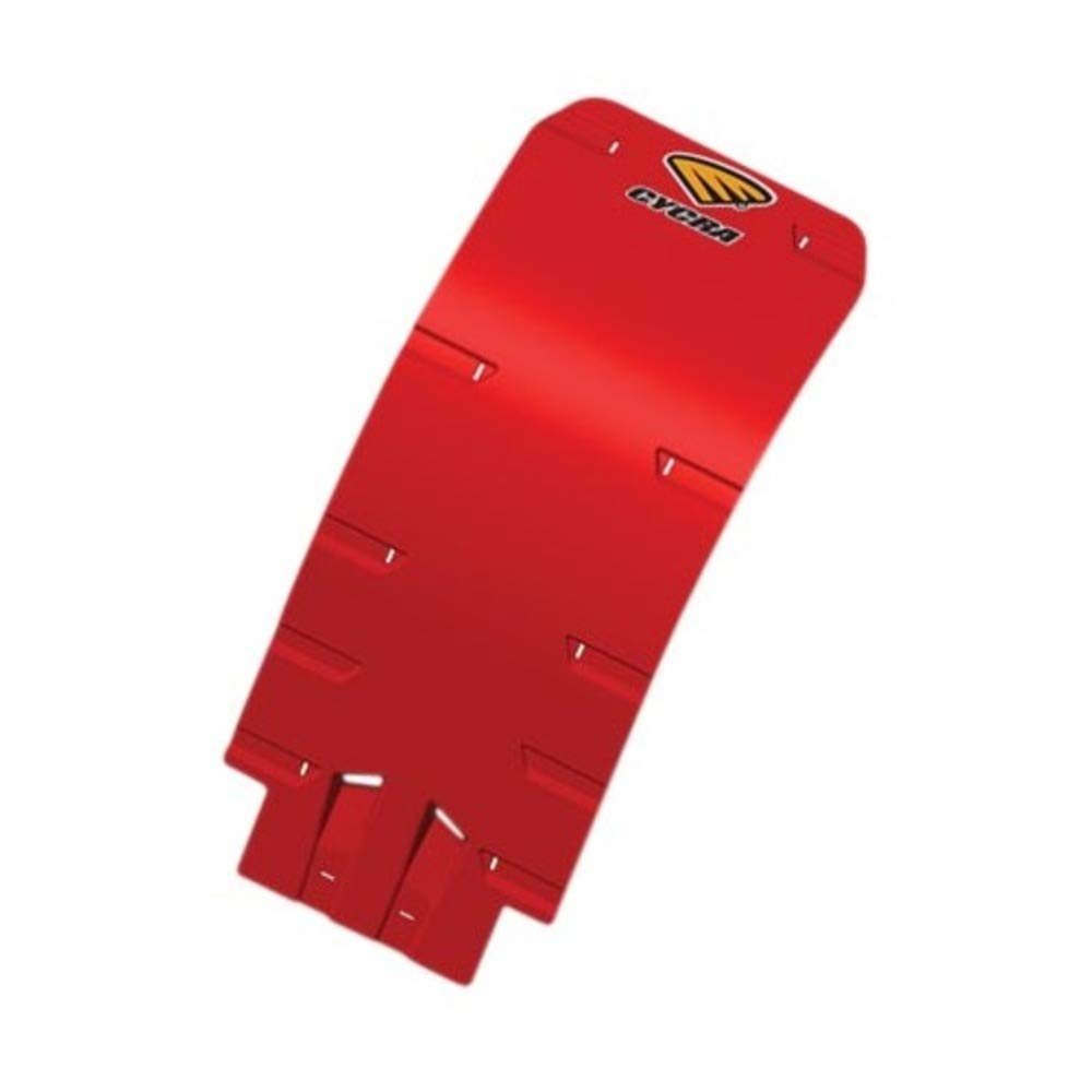 Cycra Skid Plate Speed Armor High Impact Red for Honda CRF250 CRF 250 2004-2009 tr-123295