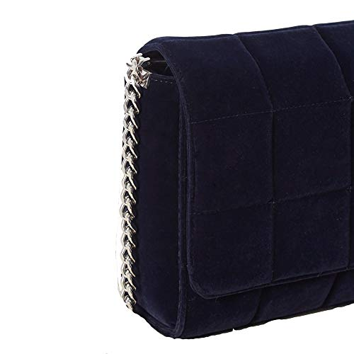 Trapuntato Velluto Crossbody Utility Connection Womens Rafa Blue French fEtwqx