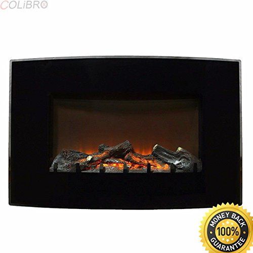 COLIBROX--1500 WATT Electric Fire Place Wall Mounted Heater Remote Control Fireplace log. wall mount electric fireplace reviews. wall mount fireplace lowes. best wall mount fireplace amazon.