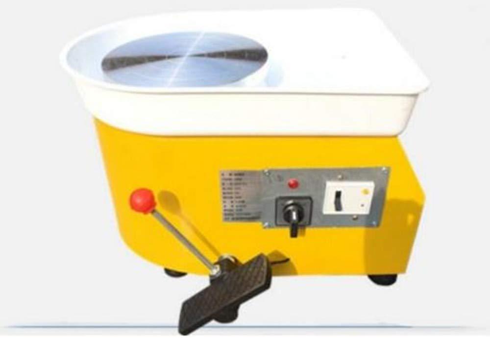 FINCOS 220v 250w 25cm EU Plug Pottery Wheel Machine Accessory for Ceramic Work Ceramics Clay DIY Tool Pottery Equipment