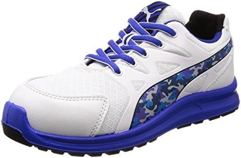 安全靴 作業靴 リレー ロー JSAA A種認定 先芯合成樹脂 衝撃吸収 静電 靴幅4E ジャパンモデル メンズ