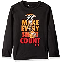 Under Armour Boys' Long Sleeve Graphic Tee Shirt