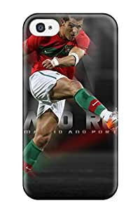 Hot Style YVBPYQp4543aALFS Protective Case Cover For Iphone4/4s(cristiano Ronaldo Pic)