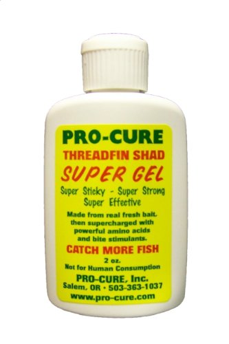 Pro-Cure Threadfin Shad Super Gel, 2 Ounce