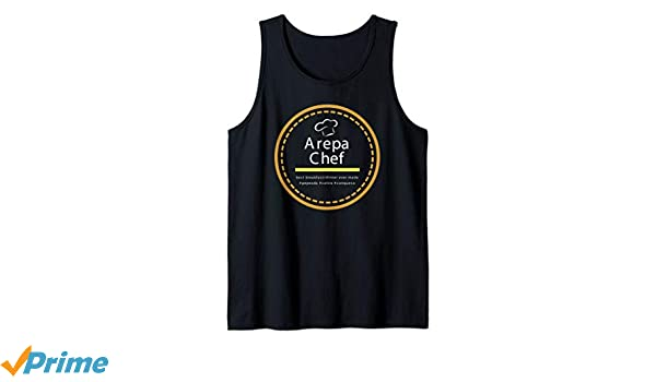 Amazon.com: Arepa Chef novelty pride venezuelan shirt Tank ...