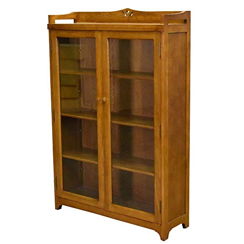 Crafters and Weavers Mission Bookcase/Curio Cabinet - Michael