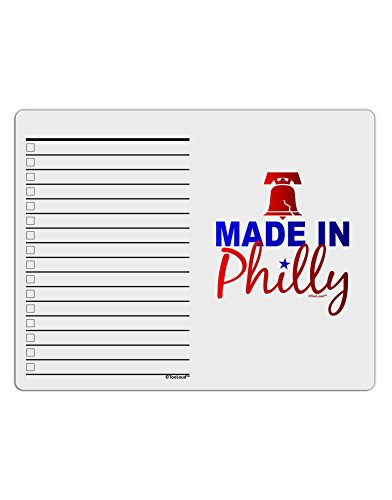 TooLoud Made In Philly To Do Shopping List Dry Erase - Philadelphia Pa In Shopping