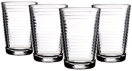 Home Essentials 330 Set of 4, Solar 7 Oz Juice - Juice Glasses Glass