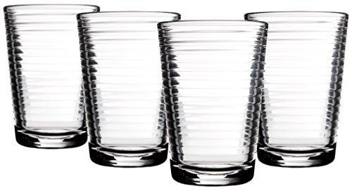 Home Essentials 330 Set of 4, Solar 7 Oz Juice - Glasses Juice Glass