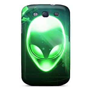 Protector Hard Phone Cover For Samsung Galaxy S3 With Allow Personal Design Lifelike Alienware Series SherriFakhry
