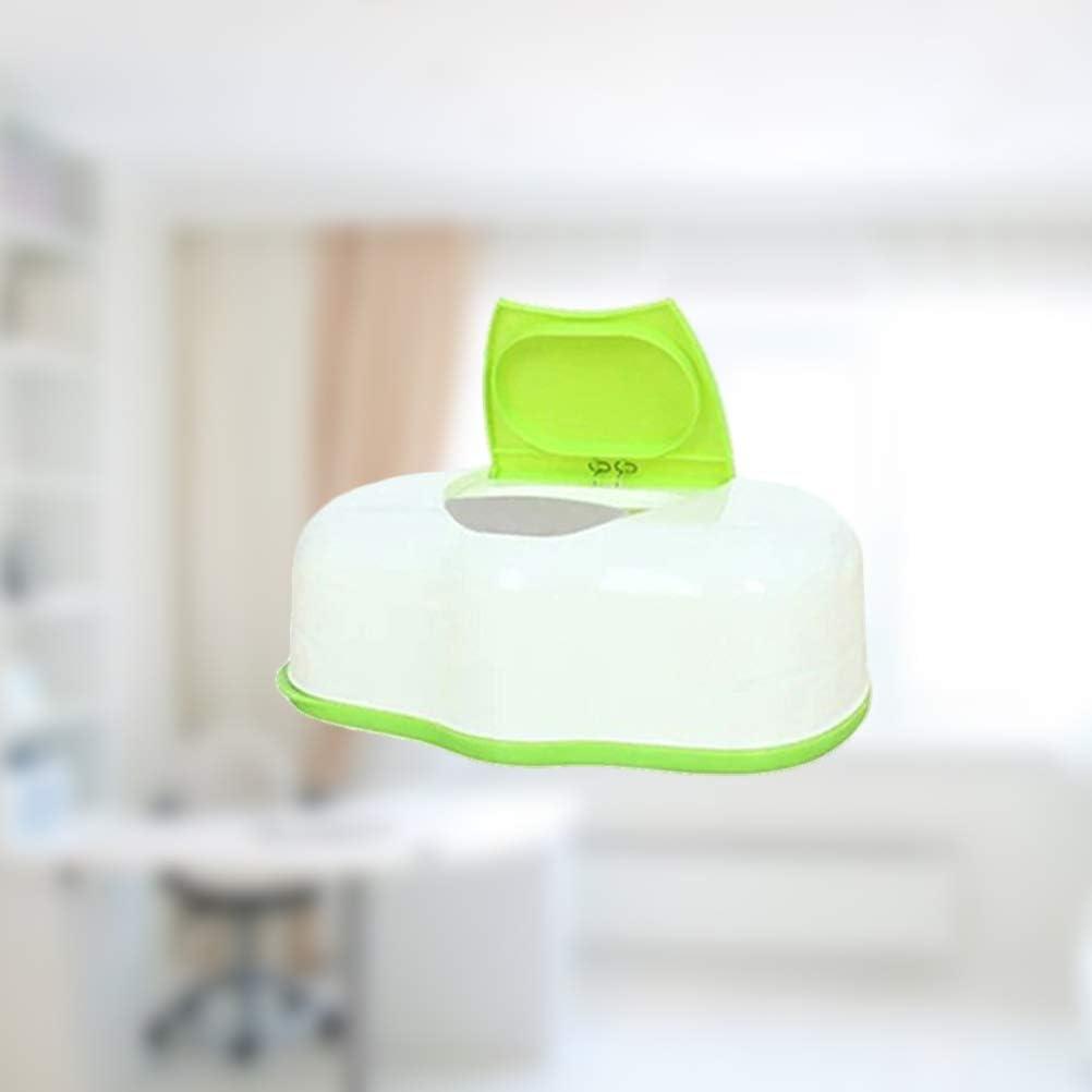 TOPBATHY Distributeur de lingettes pour b/éb/é avec /étui /à lingettes pour la Maison et Le Salon Vert