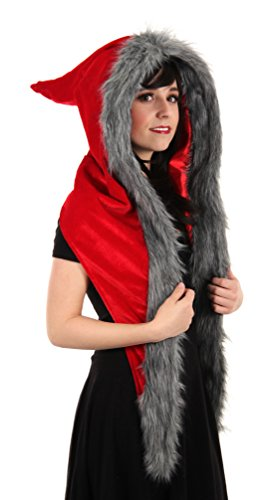 elope Red Riding Hood Costume Hood for (Red Riding Hood Original Costume)