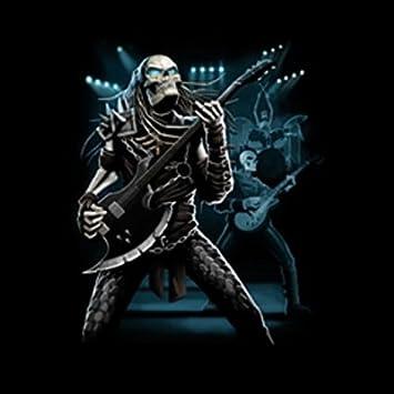 Totonkopf Gitarre Musik Sense T-Shirt : Predator -- T-Shirt bedruckt:  Amazon.de: Sport & Freizeit