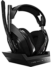 ASTRO A50 Wireless Gaming Headset & Base Station Gen 4 - DOLBY AUDIO
