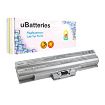 UBatteries Laptop Battery Sony VAIO VPCF2390S - 6 Cell, 4400mAh (Silver)