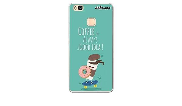 dakanna Funda para Huawei P9 Lite | Comida Café y Donut en ...