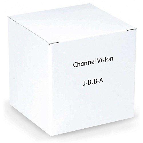 Channel Vision J-BJB-A Gold Plated Banana Jack Black Stripe Insert, Almond