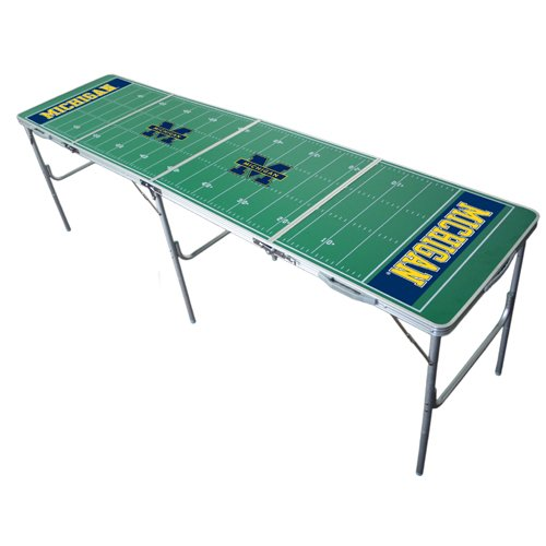 Michigan Wolverines 2x8 Tailgate Table by Wild -
