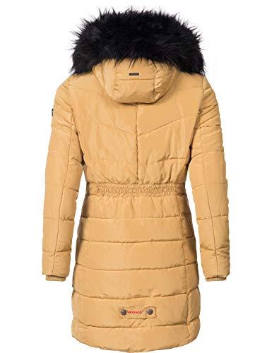 11 Matelassé Navahoo D'hiver Femme xxl Un Couleurs Paula Large Camel Manteau Xs Long xawr4a8q