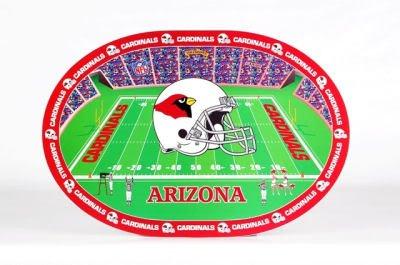 【日本未発売】 NFLのセット4プラスチックプレースマット アリゾナカージナルス B002RIPCWY B002RIPCWY, フォアザアース:b5289983 --- a0267596.xsph.ru