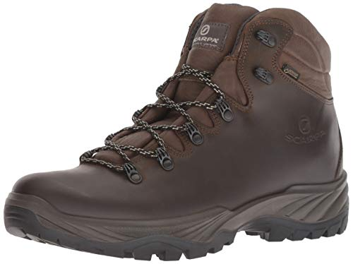 SCARPA Men's Terra GTX Walking Shoe, Brown, 44 Regular EU (US M 10.5, UK 9.5 US)
